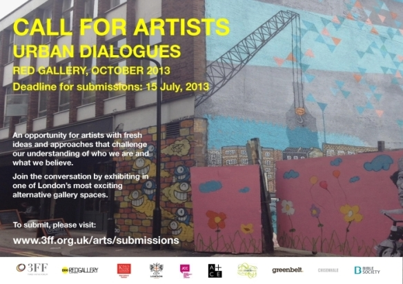 Call out 2013 individual artists
