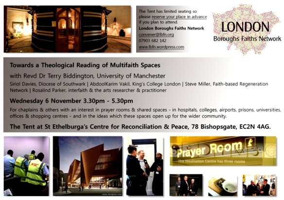 Multifaith Spaces 6 Nov