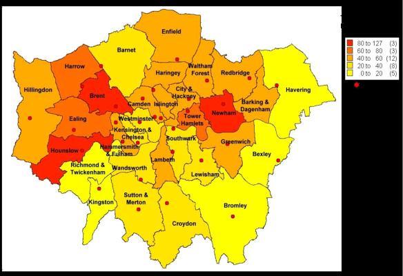 TB map 2009