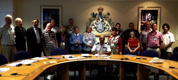 LBFN's Crime, Community Safety and Security social lab at New Scotland Yard.