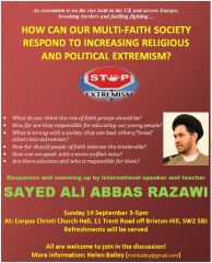 Extremism event