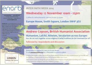 Europe House 12 Nov 2014