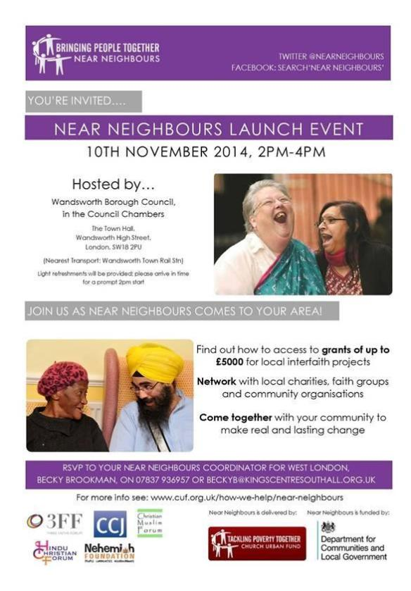 Wandsworth NN launch 10 Nov