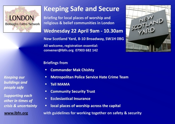 Security Briefing 22 April 9am